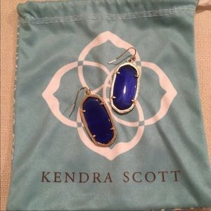 Kendra Scott elle earrings like new
